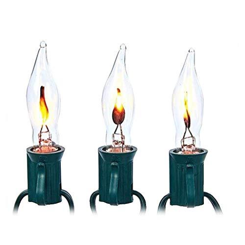 Kurt Adler 10-Light Flicker Flame Light Set