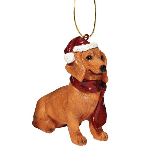 Design Toscano Christmas Ornaments - Xmas Dachshund Holiday Dog Ornaments