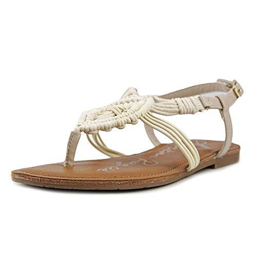 American Rag Apalima Women Us 7.5 Sandalo In Pelle Di Avorio