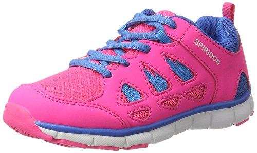 Bruetting Spiridon Fit, Zapatillas Unisex Niños Rosa (Pink/blau)