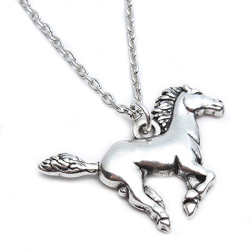 Godyce Horse Pendant Necklace For Women Girl Jewelry With Gifts Box