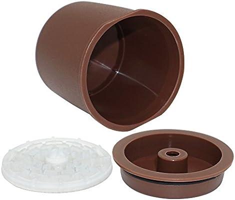 ACECITY Cápsulas de filtro de café reutilizables Cápsulas de ...