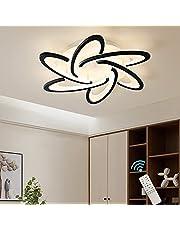 Oninio LED Ceiling Light Modern Design Dimmable Ceiling Lamp Flush Mount Ceiling Light Fixture for Living Room Kitchen Bedroom Dinning Room,3000-6500K