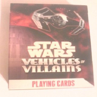 Star Wars Playing Cards Vehicles of Villains
