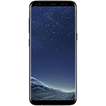 Samsung Galaxy S8 SM-G950F Unlocked 64GB - International Version/No Warranty (GSM) (Midnight Black)