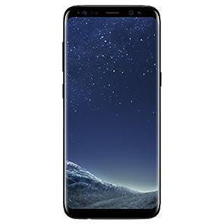 Samsung Galaxy S8 SM-G950F Unlocked 64GB - International Version/No Warranty (GSM Only, No CDMA) (Midnight Black)