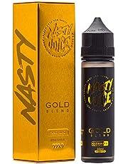 E-liquid Gold Blend de Nasty Juice Gama Tobacco 60ml – sabor a tabacco de excelente calidad, TPD,para Cigarrillos Electrónicos,sin nicotina.