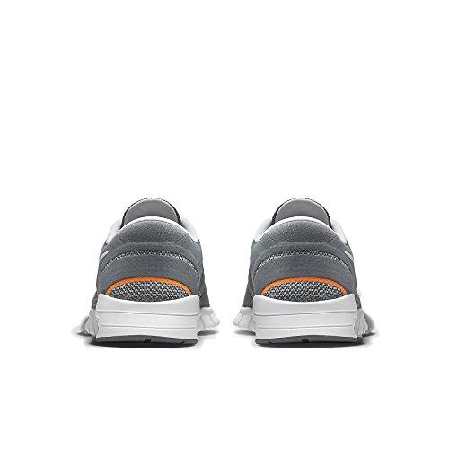 NIKE Herren Eric Koston 2 Max Laufschuh Cool Grey / Gesamt Orange / Weiß