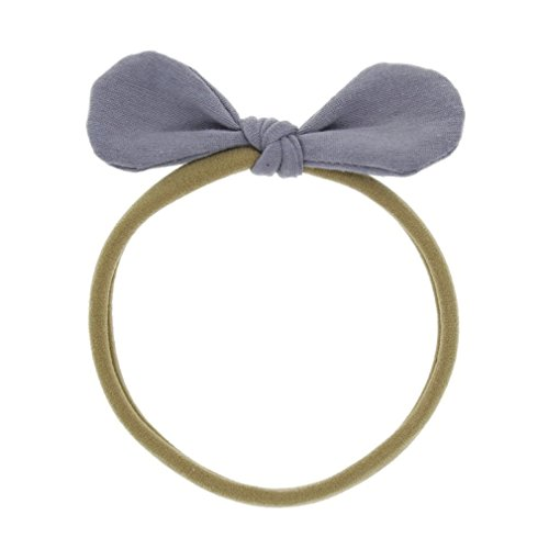 MONOMONO-Kids Girl Princess Baby Toddler Flower Bow Headband Hair Band Elastic Headwear - Mall U Village