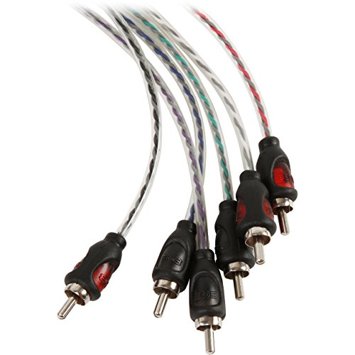 Buy 4 channel amp rca cables