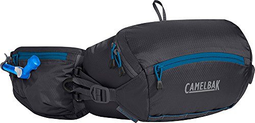 (CamelBak Vantage LR Hydration Belt, 50oz (Charcoal & Grecian Blue))