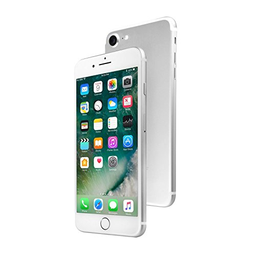Apple iPhone 7 , GSM Unlocked, 32GB - Silver (Certified Refurbished)