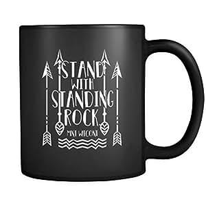 Stand with Standing Rock - Mni Wiconi 11 oz Ceramic Mug - Custom Printed Mug