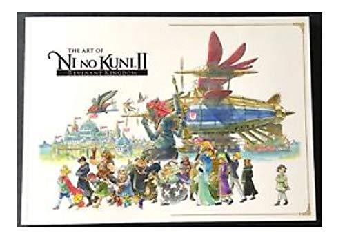 (Ni No Kuni II Revenant Kingdom Collectors Edition Visual Arts Book )