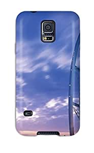 Top Quality Rugged Al Burj Tower Jumeirah Dubai Case Cover For Galaxy S5 by lolosakes