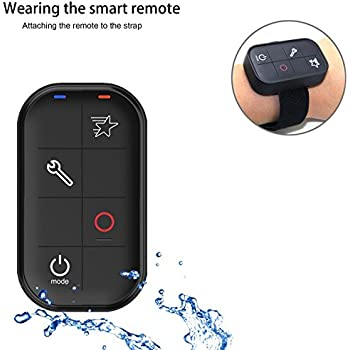 Gopro Remote, ANYQOO Gopro Waterproof Smart WIFI Remote Control Set with Charging Cable and Wrist Strap for Gopro Hero LCD, GoPro Hero 6 Hero5 Session, Hero4 Silver, Hero4 Black, Hero3, Hero Session