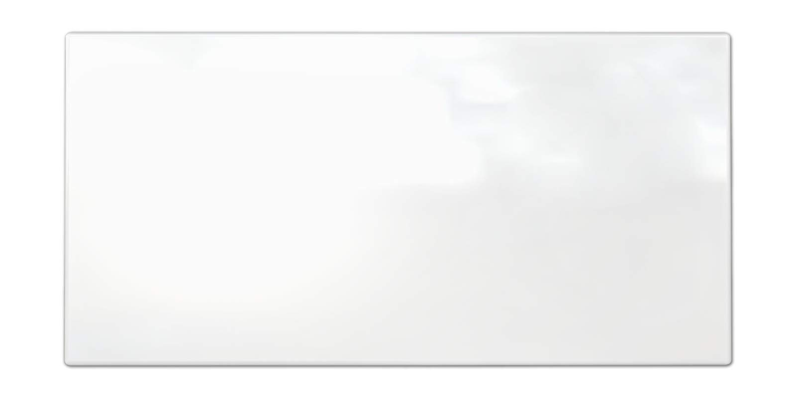 3x6 Snow White Glossy Finish Ceramic Subway Tile Shower Walls Backsplashes (80pcs Box)