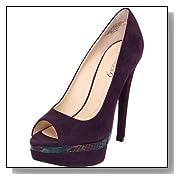 Boutique 9 Women's Nixit Peep-Toe Pump