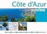 Cote d'Azur PopOut Map (Popout Map Cote D'Azur)