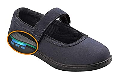 Orthofeet Proven Bunions, Foot Pain Relief. Extended Widths. Orthopedic Diabetic Arch Support Women's Shoes, Springfield