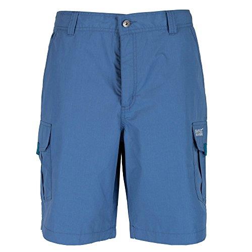 Regatta Mens Mens Delph Polycotton Walking Shorts Stellar