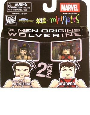 Minimates: Marvel Series 26: Wolverine Movie > Deadpool & Special Ops Wolverine Action Figure 2-Pack