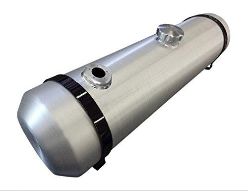- 10x33 Center Fill Spun Aluminum Gas Tank - 11 Gallon with Sending Unit Flange 3/8 NPT - Trike - Rat Rod - Sandrail - Offroad - Dunebuggy - Baja Bug - Made in the USA!