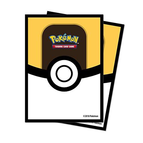 Pokémon 85459 Ultra Ball Standard Card Sleeves, Multi-Colour