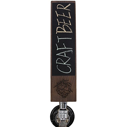 Personalized Engraved Beer Tap Handle with Chalkboard, 8