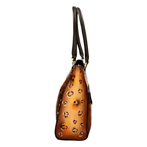 Handprint Brown Bag Niarvi Crepuscolo Sahara Hqtq1E