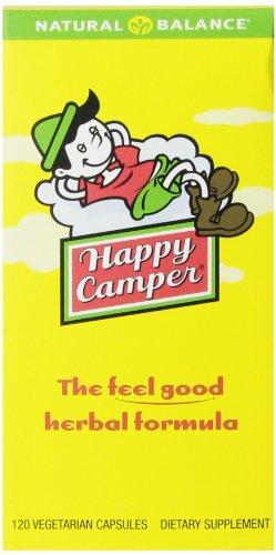 Природный баланс Счастливые Camper, 120-Вегетарианская капсулы