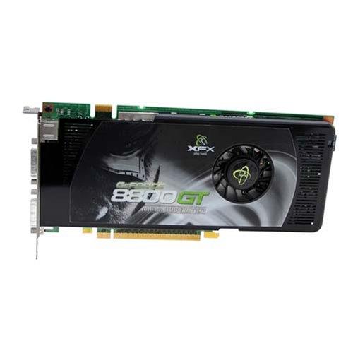 XFX PVT88PYDF4 GeForce 8800GT 512MB GDDR3 PCI Express x16 SLI Ready Video Card (Dual DVI/S-Video)