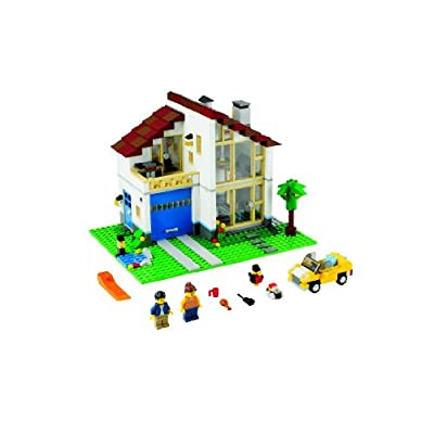 LEGO CREATOR 3-in-1 Family House Building Set 31012: Toys & Games