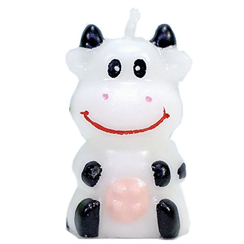 Birthday Candles Gifts Cake Decorations Cute Cartoon Animal Party Decorations for Birthday Party (Little