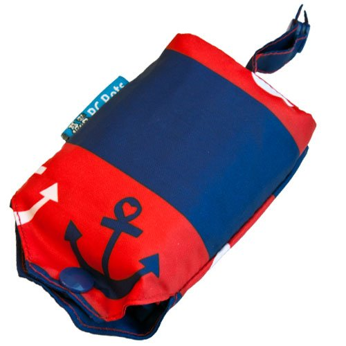 Picture of RC Pet Products Packable Dog Rain Poncho, Nautical, XX-Large