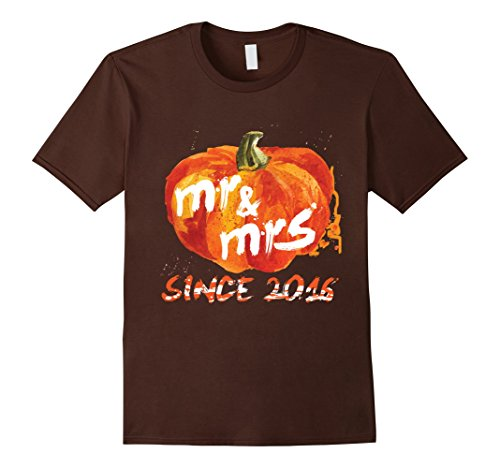 Best Couples Halloween Costumes 2016 (Mens Meaningful Gift For Best Couples Since 2016, Halloween Shirt 3XL Brown)