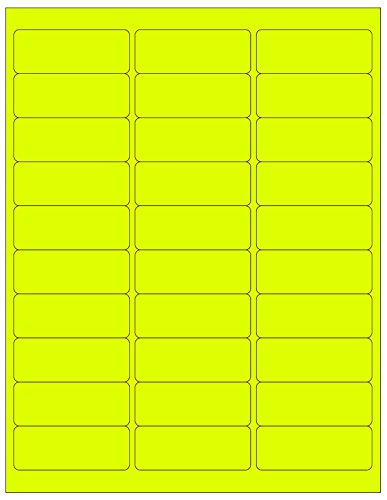 Yellow 1 Sheet - 8