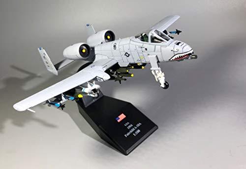- USA Fairchild A-10 Thunderbolt Original Version 1/100 DIECAST Plane Model Aircraft