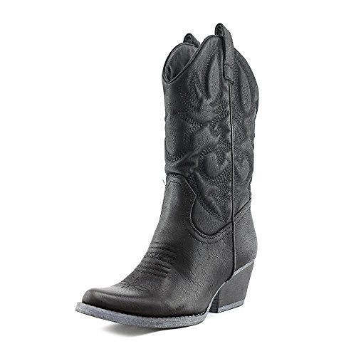 Rbls Women's Valley Boot, Black, 6.5 M US (Cheap Cowgirl Boots Under 20)