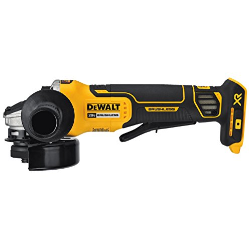 Dewalt dcg413b 20v xr brushless 4 5 angle grinder for Dewalt 20v brushless motor