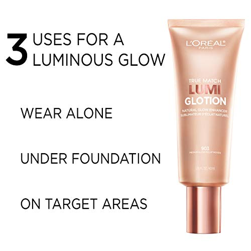 L'Oreal Paris True Match Lumi Glotion Natural Glow Enhancer Lotion, Light, 1.35 Ounces 5