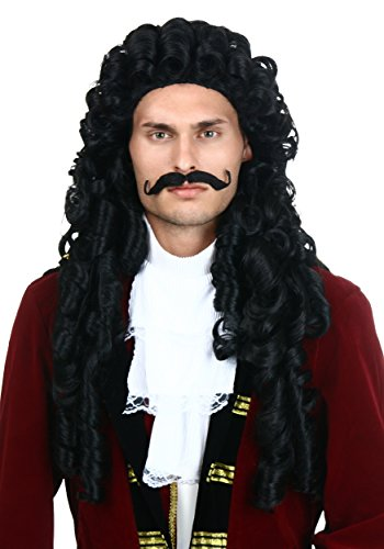 Fun Costumes unisex-adult Elite Captain Hook Wig (Hook Wig)
