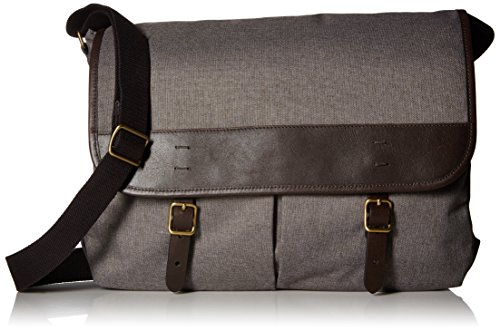 Fossil Men's Buckner Leather Trim Messenger