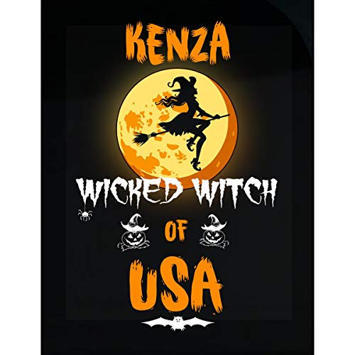 Inked Creatively Kenza Wicked Witch of USA Sticker ()