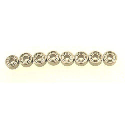DT LOSB1528 Micro-T B Losi  Wheel /& Hub Ball Bearing Set