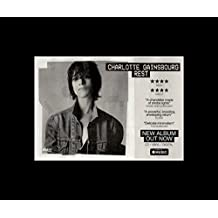 Charlotte Gainsbourg - Rest - Album Release Mini Poster - 25.4x30.3cm