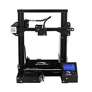 Ender 3 upgraded version 3d printer aluminum diy with resume print