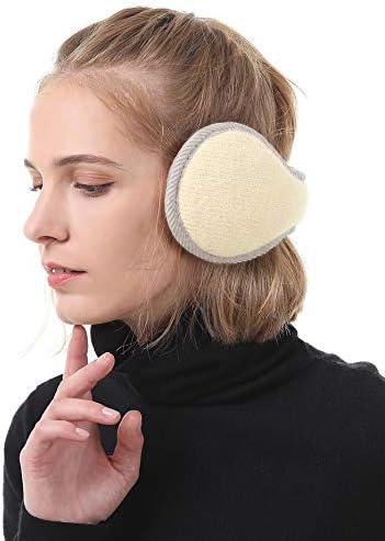 Durio Winter Ohrenschützer Damen Ohrenwärmer Herbst Warme Earmuffs Verstellbar Ear Cover