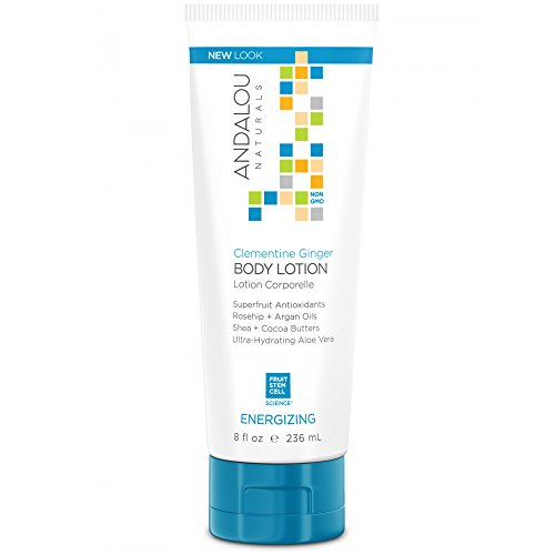 Andalou Naturals Body Lotion - Clementine Ginger Energizing - 8 fl oz (Body Lotion Natural Apricot)
