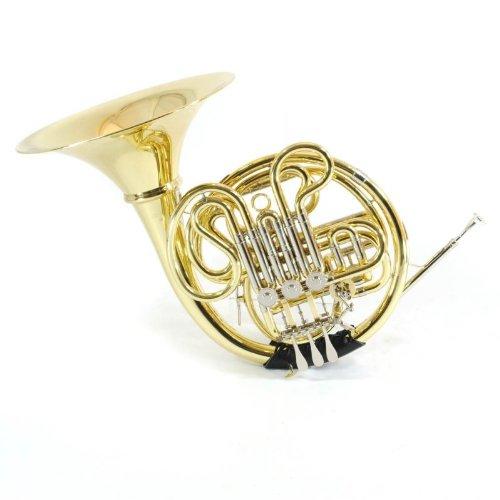 Schiller Elite V Double French Horn - Gold Lacquer